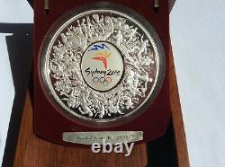 Sydney 2000 Olympic $30 1 Kilo Silver Collection Coin (Limited Issue no 2609)