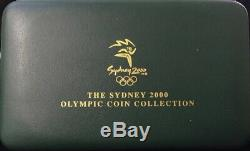 Sydney 2000 Olympic Gold and Silver 3 Proof Coin Set #4 Preparation I