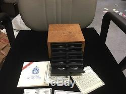 The Box Of 1976 Canada Olympic, 14 Pcs $5 & 14 Pcs &10 Silver Coins-Limited Edit