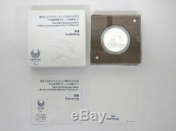 Tokyo 2020 Olympic Games 1000 Yen Silver Coin Proof Coin Set Swimming