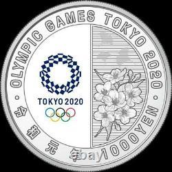Tokyo 2020 Olympic Games Commemorative 1,000 yen Silver Coin Judo