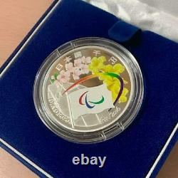 Tokyo 2020 Paralympic Commemoration 1000 Yen Silver Proof Coin Set Japan F/S