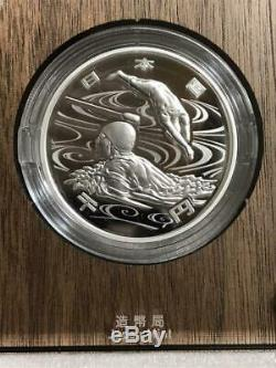 Tokyo 2020 Paralympic Games 1000 Yen Silver Coin Proof Coin Swimming Olympics