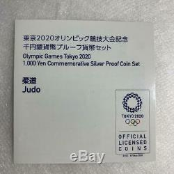 Tokyo Olympic 2020 commemorative Proof Judo Silver Coin