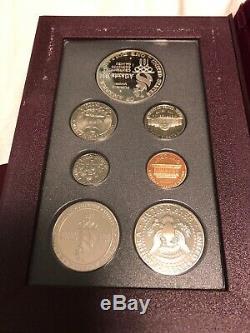 United States Mint 1996 Prestige Set Atlanta Cent Olympic Coins WithBox & COA