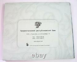 V. Rare Set 6 Silver 925 Coins 2008 XXIX Beijing Olympics Moldova Transnistria