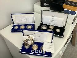 Very interesting coin collection Lots Of silver Inc Olympics