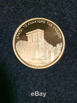 Year 2004 Greece Athens Olympics Commemorative Coin Sets -2 Gold Coins/4 silver